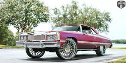 X90 SALANTE Polished 28x10 - Chevy Impala