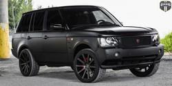 S121 SHOT CALLA Blk Mach w Dk Tint 22x10.5 - Land Rover Range Rover