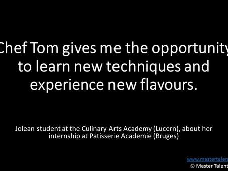 Why choose an internship at Patisserie Academie?