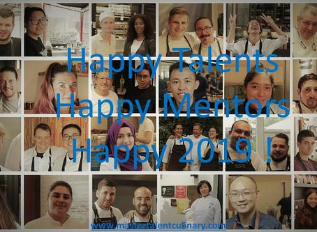 Happy Talents - Happy Mentors - Happy 2019 !