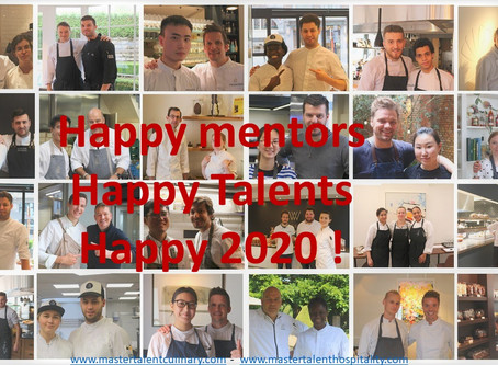 Happy 2020 from the Master Talent Foundation Team!