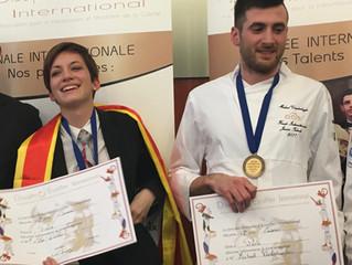"""How Michael Vanderhaeghe wins the """"Trophee Jeunes Talents Escoffier"""""""