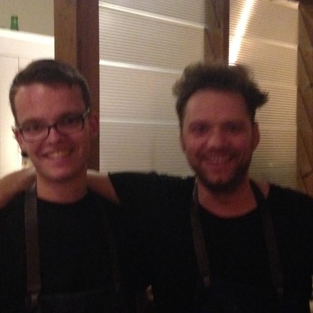 Seppe Meeus & Chef Davy Schellemans
