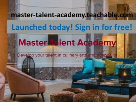 Proud to present: Master Talent Academy!