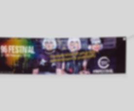 Free Elegant Textile Banner  Mockup PSD