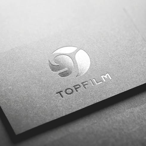 TOPFILM 商標設計