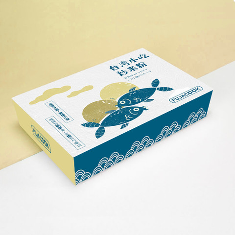 FUJACOOK 台灣小吃 包裝設計
