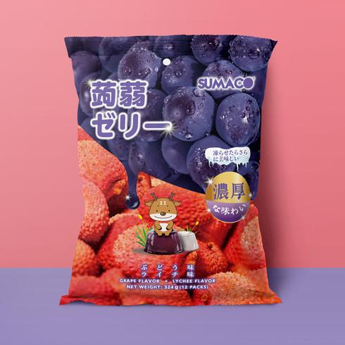 SUMACO 軟糖包裝設計