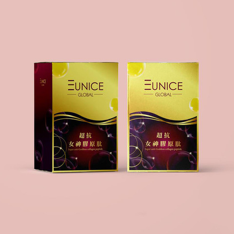 EUNICE 超抗女神膠原鈦 包裝設計