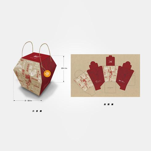 麻妃 滷味  禮盒包裝設計