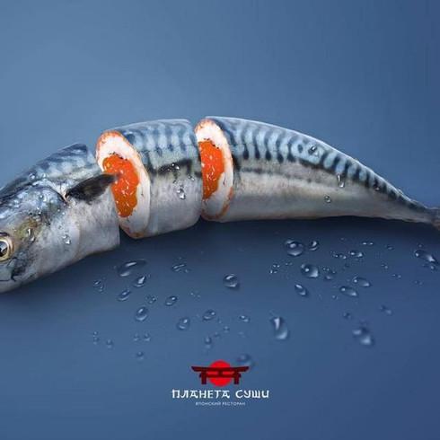 壽司創意海報設計