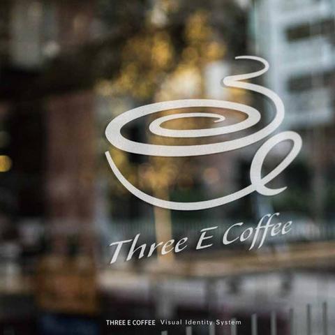 Three E Coffee  商標設計