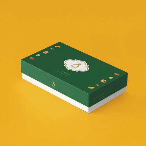松記名點 禮盒 包裝設計