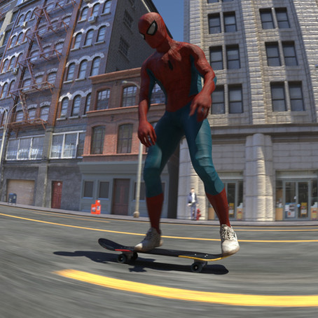 Miran Dilberovic takes us behind the scenes of his Spiderman Skateboarding animation.