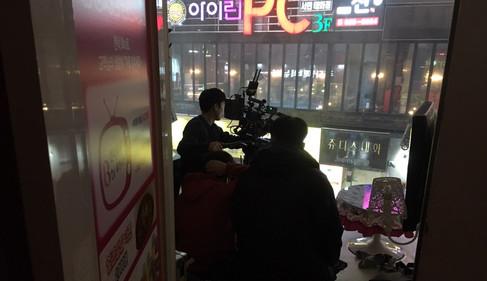 영화 <박화영> 촬영