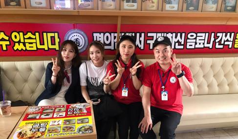 SBS <K팝스타&프렌즈> 촬영