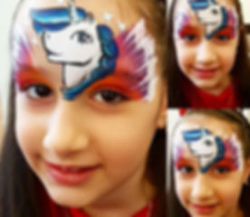 Unicorn_#facepaintingcalgary_#calgaryfac