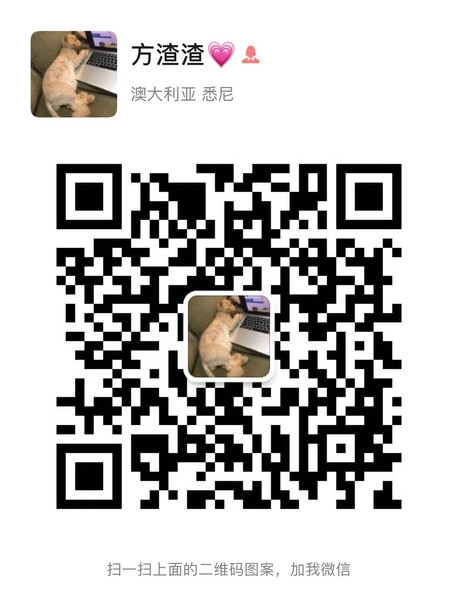 Victoria Wechat QR Code