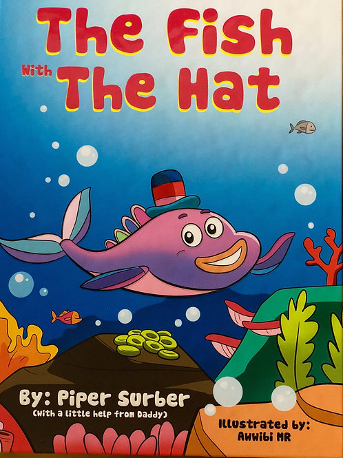 Paper Back - The Fish With The Hat