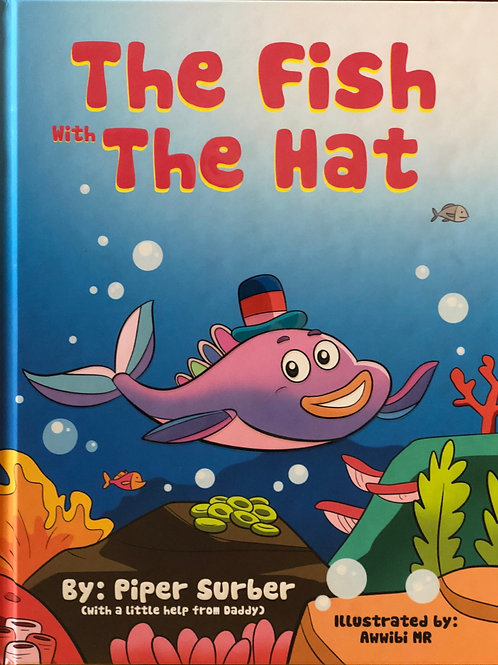 Hard Cover - The Fish With The Hat