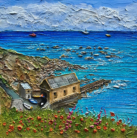 The Old Lifeboat House -Lizard Point