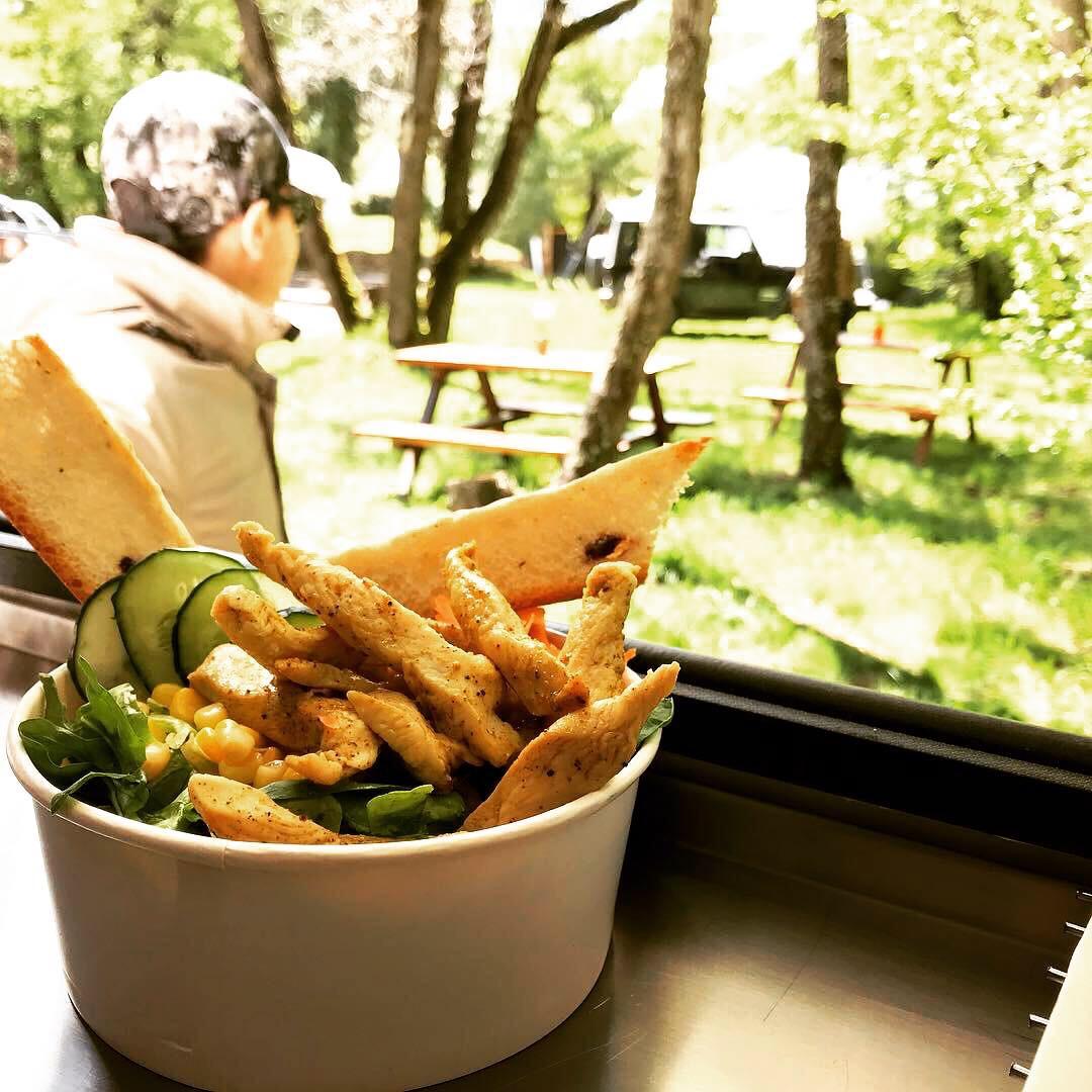 Menu food truck, ensaladas y mas