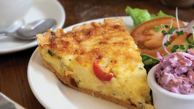 quiche salad gallery