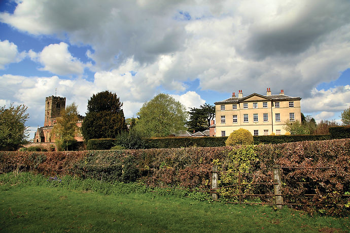 Strelley Hall  and grounds