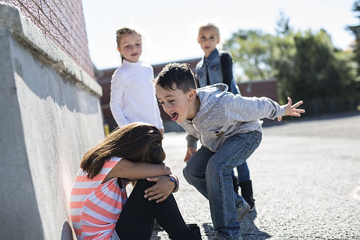 sad moment Elementary Age Bullying in Sc