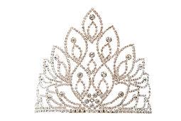 Luxury crown with diamonds, a diadem jew