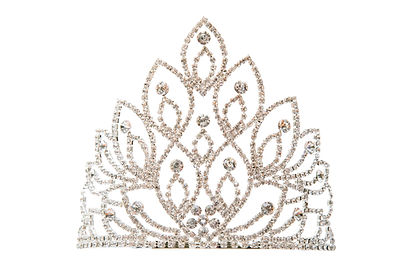 Luxury crown with diamonds, a diadem jew