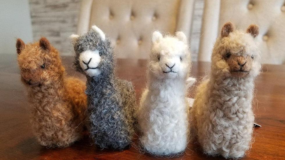 """Small Alpaca Ornament 3"""""""