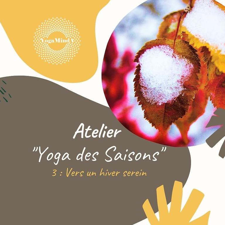 (Reporté en 2021) Yoga des Saisons : vers un hiver serein