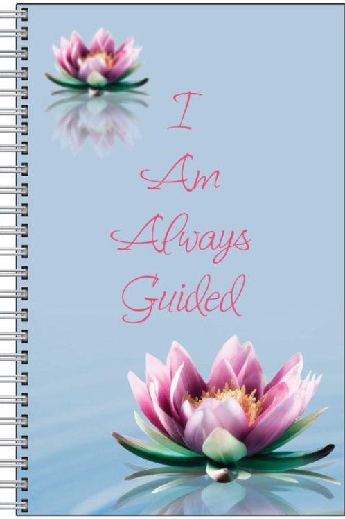 """I Am Always Guided"" Blank Journal and Pen"