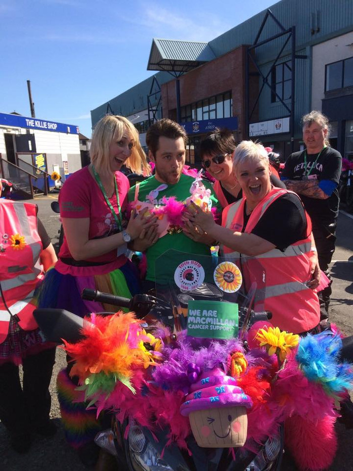 10th annual Breast Way Round bike ride around Scotland - May 26,2017