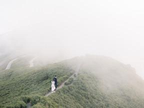 婚紗推薦文分享 命定的偽紐西蘭婚紗 合歡山拍婚紗 LINN Photography 美式婚紗婚禮攝影