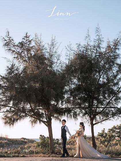 沙崙海灘婚紗