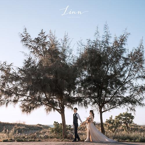 沙崙海灘 美式婚紗攝影