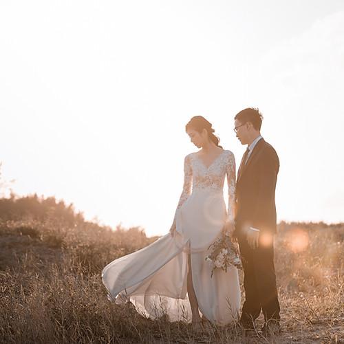 陽明山 沙崙海灘 美式婚紗