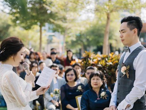 婚禮拍攝推薦文分享|擁有我們喜歡的元素組成與情感流動的婚禮/LINN 美式婚紗婚禮攝影