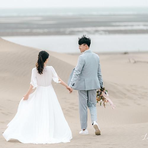 香山沙丘 香山森林 美式婚紗