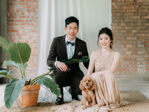 自助婚紗推薦分享∣我們的婚紗就像一趟旅行∣LINN photagraphy美式婚紗攝影∣Cradle wedding搖籃手工婚紗禮服