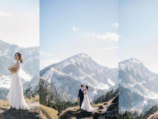 台中自助婚紗推薦 令人難忘的合歡山婚紗拍攝 LINN美式婚禮婚紗攝影