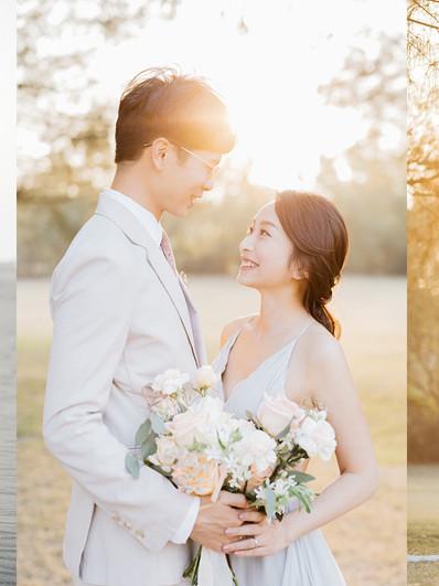 婚紗推薦文分享|光與美的完美詮釋-LINN美式婚紗