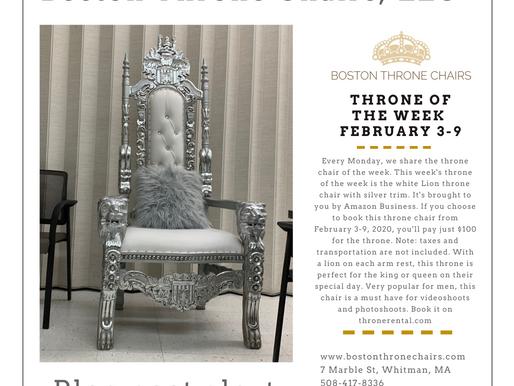 $100 Throne of the week- Feb 3 - Feb 9