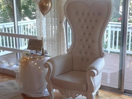 Throwback Throne Thursday Bridal white