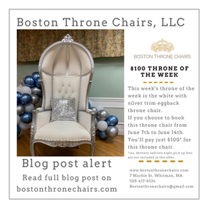$100 Throne of the week silver eggback