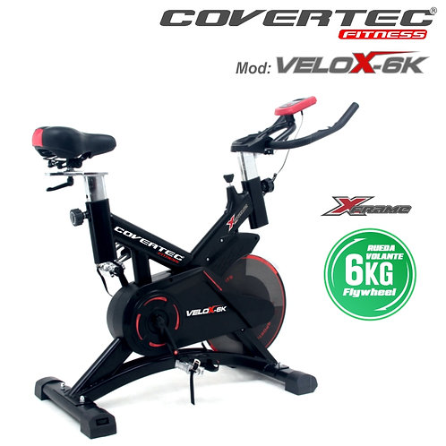 Bicicleta de Spinning COVERTEC®   Mod.: Velox-6K