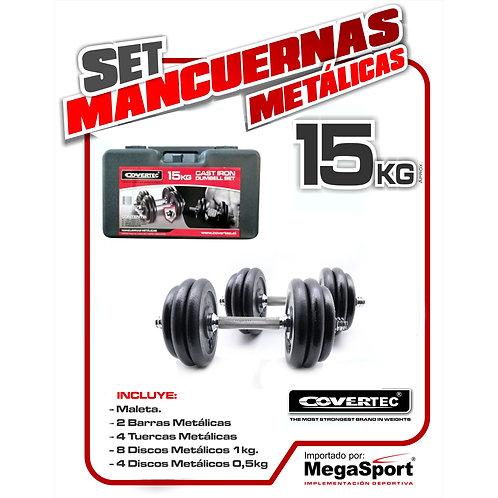 Maleta Mancuernas 15kg  COVERTEC®