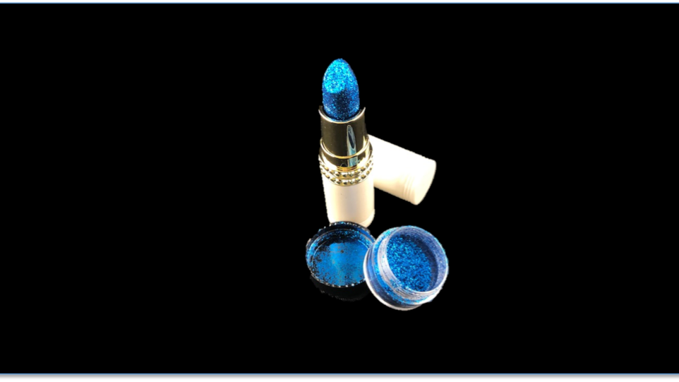 TAILGATE Long-Lasting Shimmer Lipstick and PRE-GAME Topical Glitter
